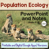 Ecology: Population Ecology PowerPoint / Notes for Teacher