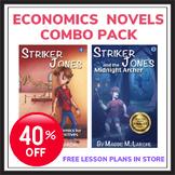 Economics Detective Series for Kids - Striker Jones 1 and 2 Combo
