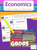 Economics Foldable Study Guide with QR Codes {Links to Pho