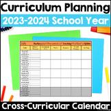Curriculum Planning Calendar 2015-2016 School Year