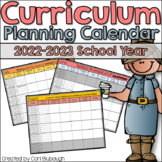 Curriculum Planning Calendar 2015-2016 School Year