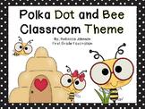 Editable Bee and Polka Dot Calendar Classroom Super Pack