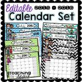 Editable Calendar Pack 2014-2015