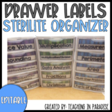 Editable Drawer Labels