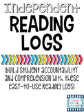 Updated Independent Reading Logs