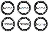Editable Labels - BW & Color
