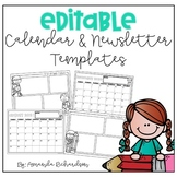 Editable Calendars and Newsletters