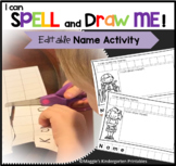"""Editable Name Activity """"I Can Spell My Name"""" Flash FREEBIE"""