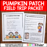 Editable Pumpkin Patch Field Trip {Simply Kinder}