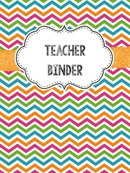 Editable Teacher Binder (Freebie)