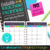 Ultimate Teacher Planner & Organizer Binder - EDITABLE {Ch