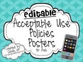 Editable iPod Rule Posters