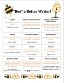 Editing Checklist for Writing (Early Elementary)