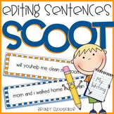 Editing Sentences SCOOT Writing Game