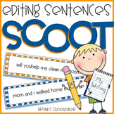 Editing Sentences SCOOT Writing Game