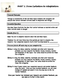 Edo/Meiji Japan 3 Part Inquiry Project
