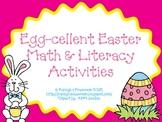 Egg-cellent Easter Math & Literacy Activities