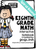 Eighth Grade Spiral Bound Full Year Interactive Notebook: