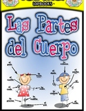 El Cuerpo (The Body) Spanish Lapbook File Folder Activities