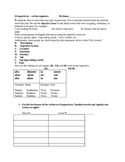 El imperfecto- Spanish Imperfect Tense Practice Worksheet Packet