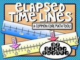Elapsed Time Lines - Common Core Math Tool