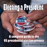 Election Lesson Plans, Reproducibles for Intermediate Grades