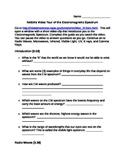 Electromagnetic Spectrum NASA WebQuest