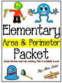 Elementary Area & Perimeter Packet (SUPER JAM-PACKED!)
