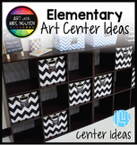 Elementary Art Center Ideas