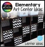 Elementary Art Center Ideas