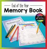 Elementary End-of-the-Year Memory Book (Yearbook)
