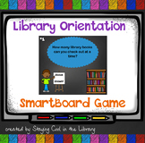 Elementary Library Orientation Game - SmartBoard Version