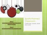 Elementary Sports Themed Classroom