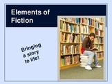 Elements of Fiction PowerPoint presentation