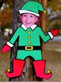 Elf Christmas Art Project