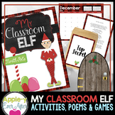 Elf on the Shelf Unit - Activities, poems and much more!