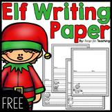 Elf on the Shelf Writing