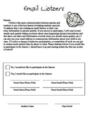 Email Listserv Form
