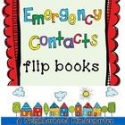 Emergency Contact Flip Books
