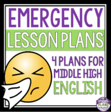 EMERGENCY LESSON PLANS: For Middle High English Language A