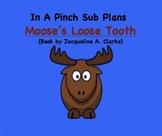 Emergency Substitute Lesson Plans- Kindergarten (Moose's L