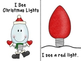 Emergent Reader: I See Christmas Lights