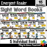 Sight Word Books PrePrimer Set 1