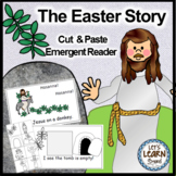 Easter Free  Emergent Reader and Cut and Paste Activities Reader