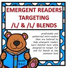 Emergent Readers Targeting /L/ and initial /L/ blends  (Level C)
