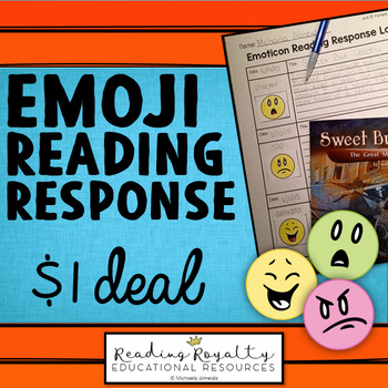 Emoticon Reading Response Freebie