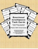Emotional Intelligence Task Cards (Using Blooms Taxonomy L