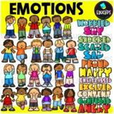 Emotions Clip Art Bundle
