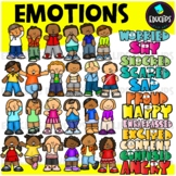Emotions Clip Art Bundle