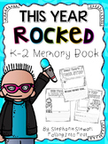 End Of Year Memory Book (K-3)